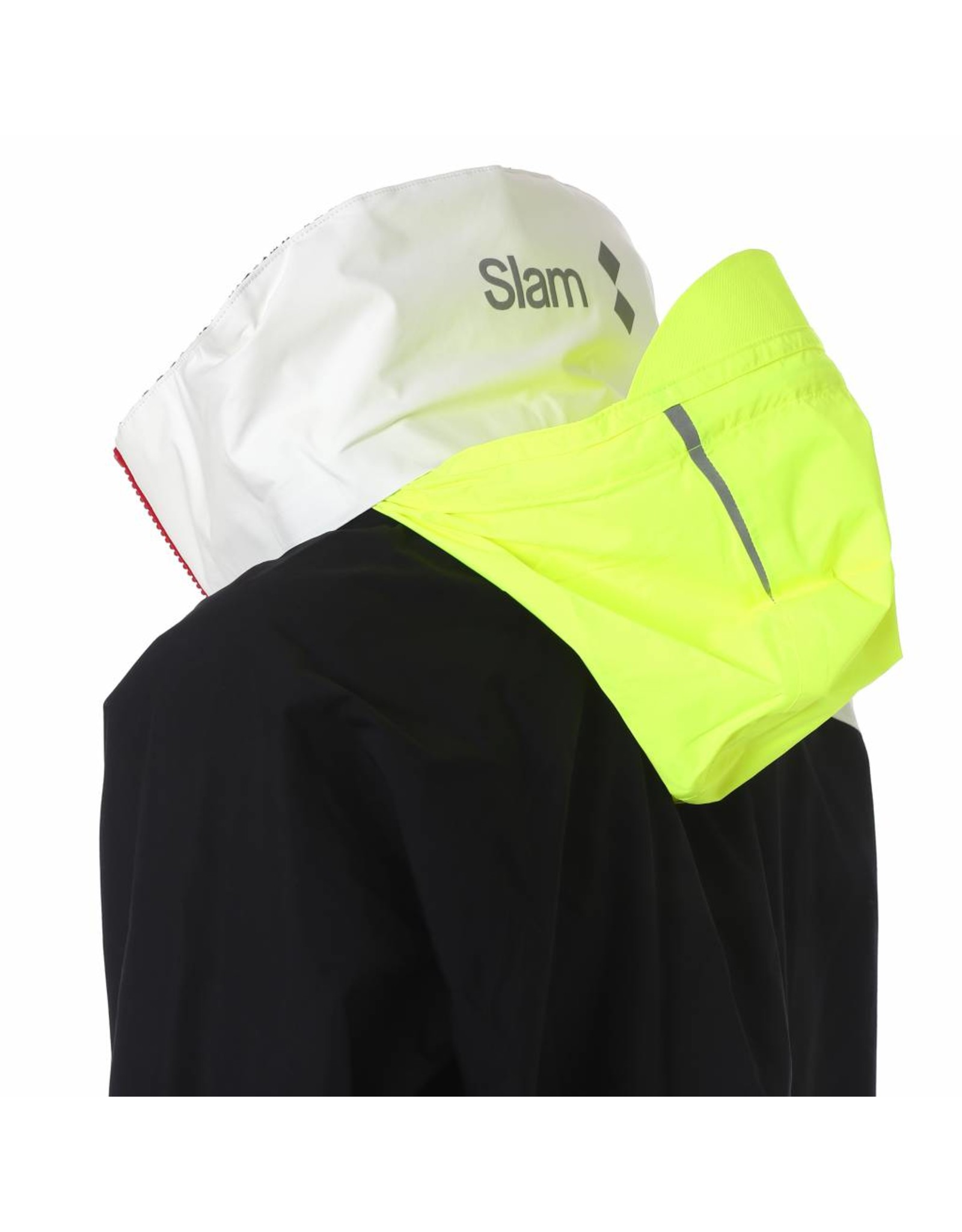 Slam WIN-D 3 Offshore/Coastal Jacket - White/Black (278)