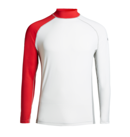 Slam Skiff Frigate top - White/grey/slam red (E48)