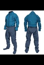 Ocean Rodeo Dysuit Heat met sokken - Blauw 2020
