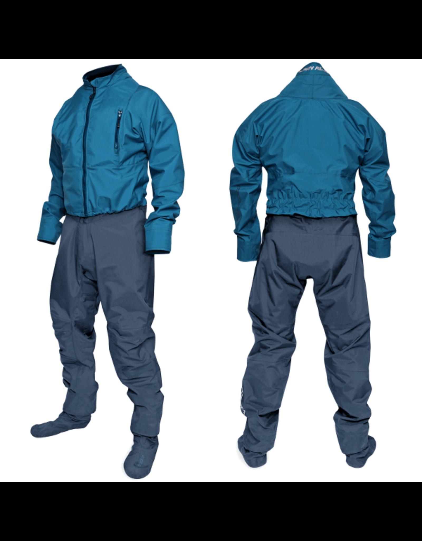 Ocean Rodeo Dysuit Heat with socks - Blue 2020