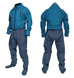 Ocean Rodeo Dysuit Heat with socks - Blue 2020