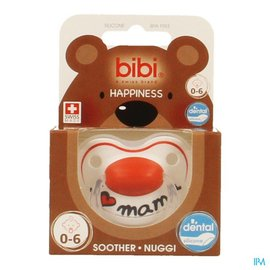 BIBI Bibi Fopspeen Hp Dental I Love Mama 0-6m