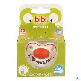 BIBI Bibi Sucette Hp Dental I Love Mama +16m