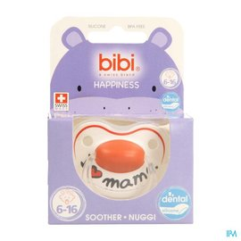 BIBI Bibi Fopspeen Hp Dental I Love Mama 6-16m
