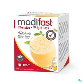 MODIFAST Modifast Intensive Milkshake Banaan Zakje 9