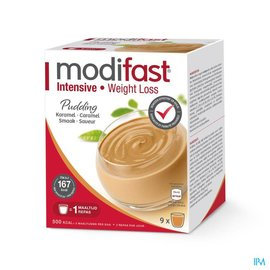 MODIFAST Modifast Intensive Pudding Caramel Sach 9