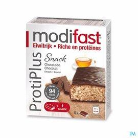 MODIFAST Modifast Protiplus Reep Pure Chocolade-chocola162g