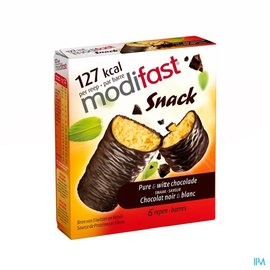 MODIFAST Modifast Intensive Control Reep Zwart-wit Choco 6