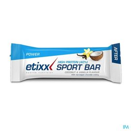 ETIXX Etixx High Protein Bar Coconut Vanilla 12x50g