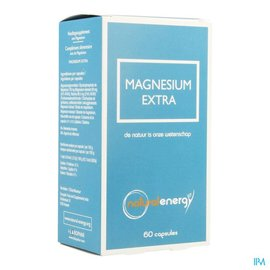 Natural Energy Magnesium Extra Natural Energy Caps 60