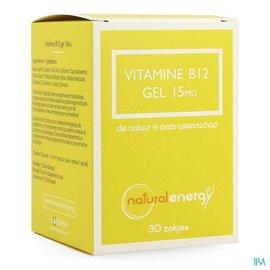 Natural Energy Natural Energy Vitamine B12 Gel 30x1,5ml