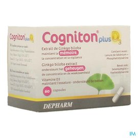 Cogniton Plus D3 Caps 60
