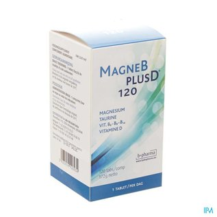 Bpharma MAGNE B PLUS D 120 TABL