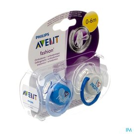 AVENT Philips Avent Fopsp Fashion Dubbel 0- 6m 2 SCF172/50