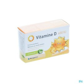 METAGENICS Vitamine D 400iu Tabl 168 Metagenics