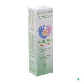 akileine Akileine Kids 3-12 Creme A/transpirante Tube 50ml