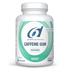 6D Sports 6d Sixd Caffeine Gum Mint 60