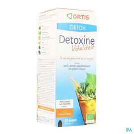 ORTIS Detoxine Vitalite Perzik Citroen Fucus Bio 250ml