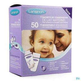 LANSINOH Lansinoh Moedermelk Bewaarzakjes 50