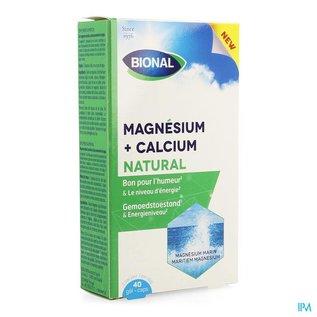 BIONAL Bional Magnesium Calcium Natural Caps 40