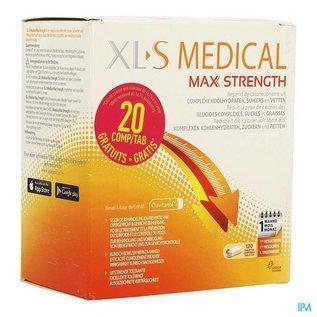 XLS Xls Med. Maximum Strength Comp 100 + Comp 20 Grat.