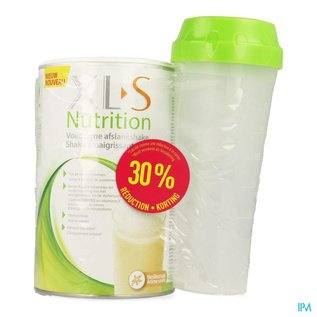 XLS Xls Nutrition Vanille 400g Maaltijd 7+3 Grat.