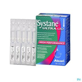 Alcon Systane Ultra Oogdruppels Hydra Ster 30x0,7ml Ud