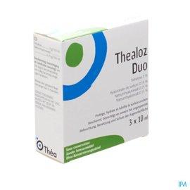 Thea Thealoz Duo Gutt Oculaires Tripack 3x10ml