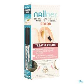 Nailner Nailner Brush Treat&color 2x5ml