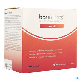 METAGENICS Barinutrics Multi Caps 180 Nf