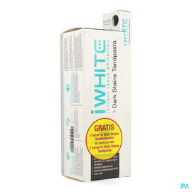 Iwhite Iwhite Dark Stains Dentifrice + Brosse Dents Grat.