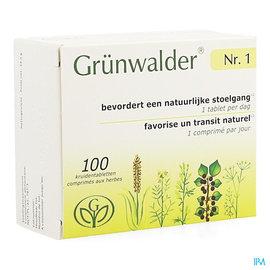 Grunwalder Grunwalder 1 Transit Intestinal Econ.pack Comp 100
