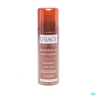 Uriage Uriage Bariesun Nevel Thermale Zelfbruiner 100ml