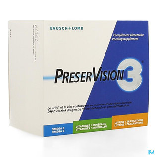 PRESERVISION 3 BAUSCH & LOMB 180 CAPS NF