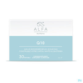 Nutrifarma Alfa Q10 100mg Softgels 30