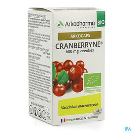 Arkopharma Arkocaps Cranberryne Bio Caps 45