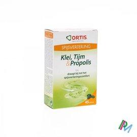 ORTIS Ortis Klei-tijm-propolis Comp 3x15