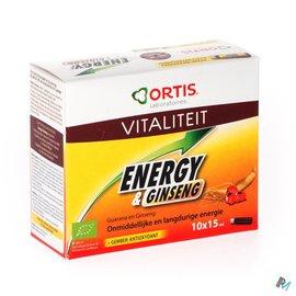 ORTIS Ortis Energy&ginseng Bio Z/alc. 10x15ml
