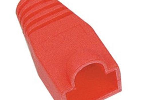 RJ45 Tule Rood 10 stuks 6mm