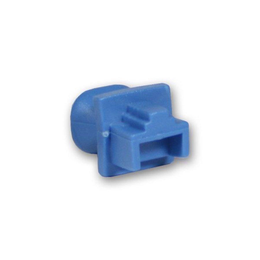 Blindstopjes voor uw ongebruikte RJ45 poorten blauw 10 stuks