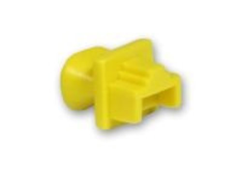 Blindstopjes voor uw ongebruikte RJ45 poorten geel 10 stuks