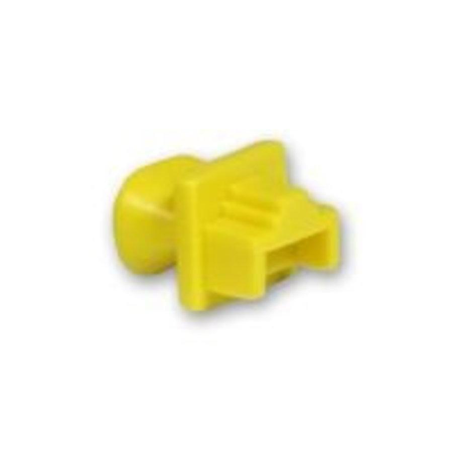 Blindstopjes voor uw ongebruikte RJ45 poorten geel 10 stuks-1