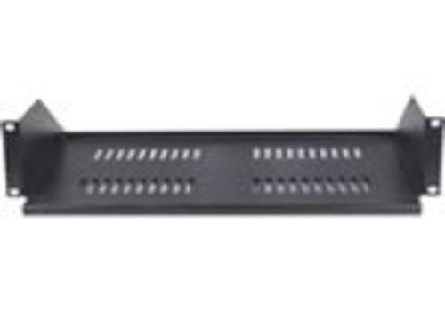 """19 vast plank voor serverkast, 2U, 267mm diepte, Max. 8Kg."""""""
