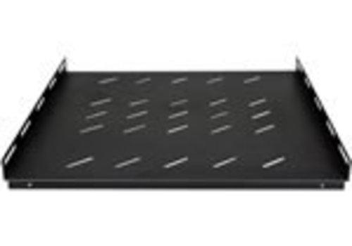 Zeer sterke 1U, vaste legbord geschikt voor alle serverkasten van 1000mm diepte
