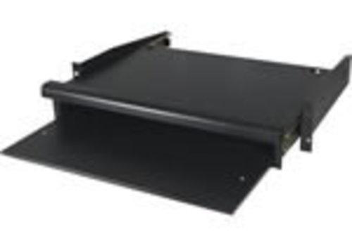 """19 toetsenbord en muis plank voor serverkasten"""""""