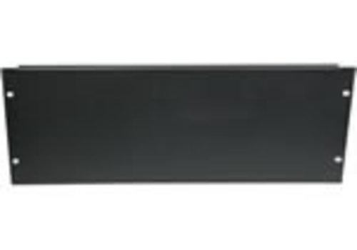 """4 U 19 afdekpaneel in zwart voor serverkasten"""""""