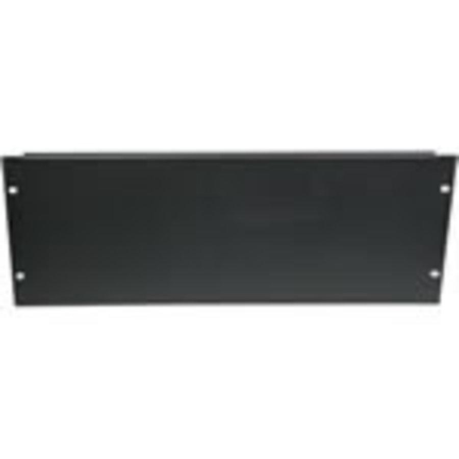 """4 U 19 afdekpaneel in zwart voor serverkasten""""-1"""