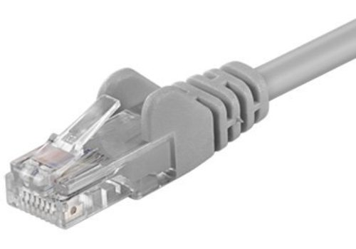 Cat5e 0.25M Grijs UTP kabel