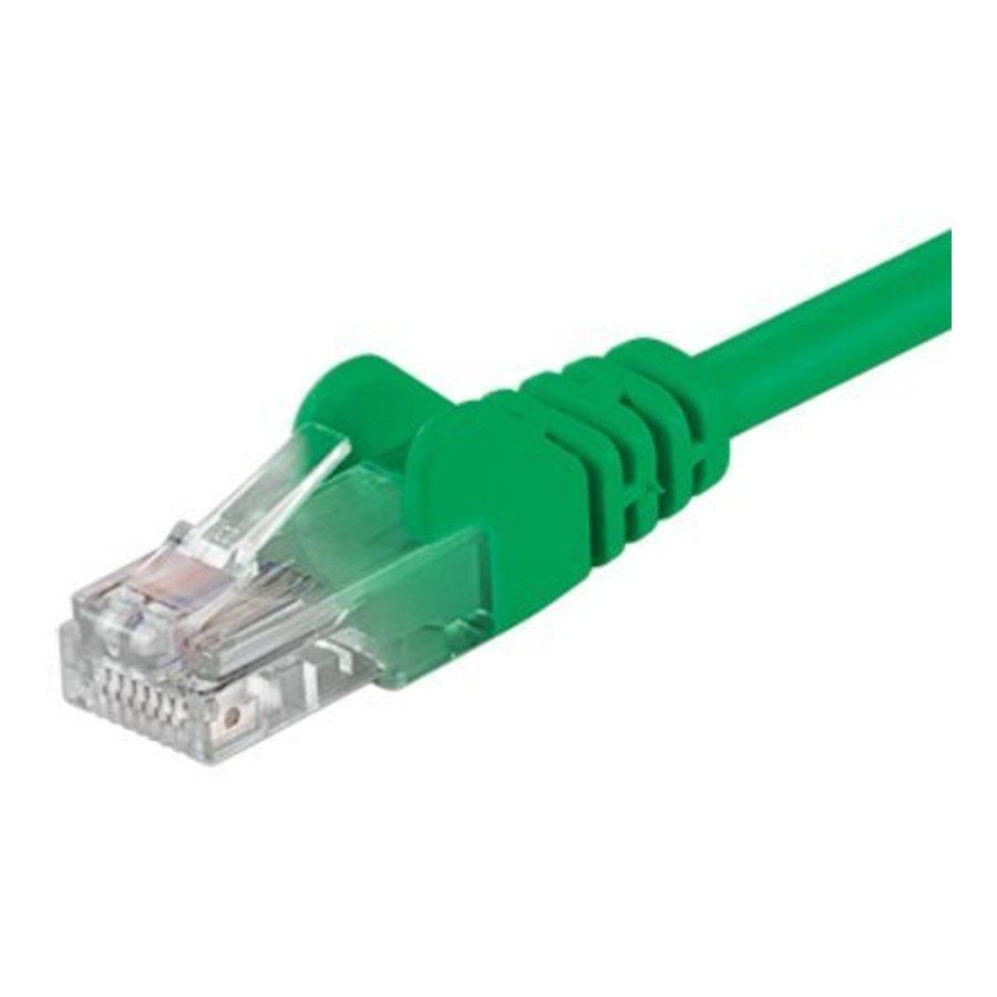Cat5e 0.25M Groen UTP kabel