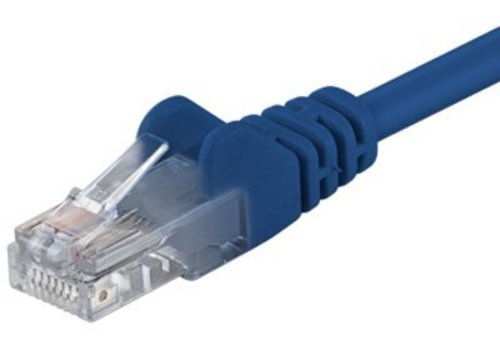 Cat6 0.25M blauw UTP kabel